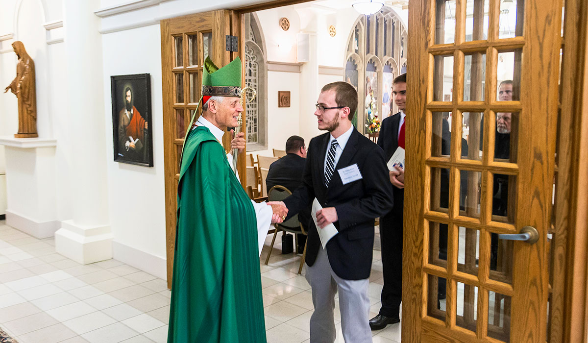 Meeting Cardinal Wuerl